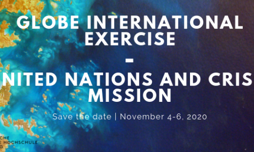 November 4-6: GLOBE International Exercise – United Nations and Crisis Mission