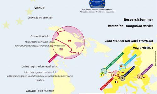 27 May: Research Seminar Romanian – Hungarian Border