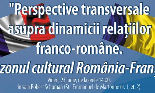 """Masa rotundă – """"Sezonul cultural România-Franța"""""""