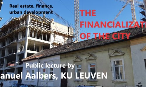 21 Mai: The financialization of the city
