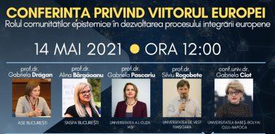14 Mai: Conferința privind viitorul Europei
