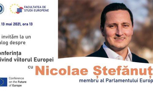 13 Mai: Conferința privind viitorul Europei