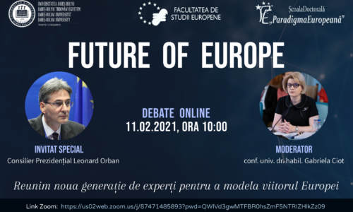 11 Feb. Debate: Future of Europe