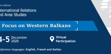 4-5 Dec. – International Relations and Area Studies: Focus on Western Balkans