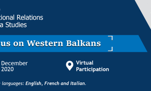 4-5 Dec. – International Relations and Area Studies: Focus on Western Balkans