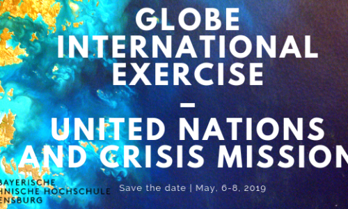 GLOBE International Exercise – United Nations and Crisis Mission – May, 6-8, 2019