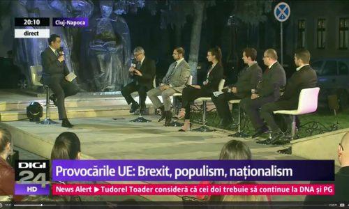 EDIȚE SPECIALĂ: Despre Uniunea Europeană, prezent și viitor – FSE la Digi24