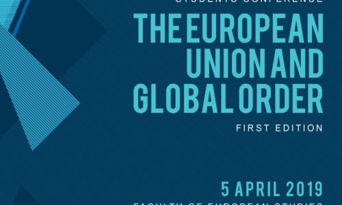 "Programul conferinţei ""The European Union and Global Order"" – 5 aprilie 2019"
