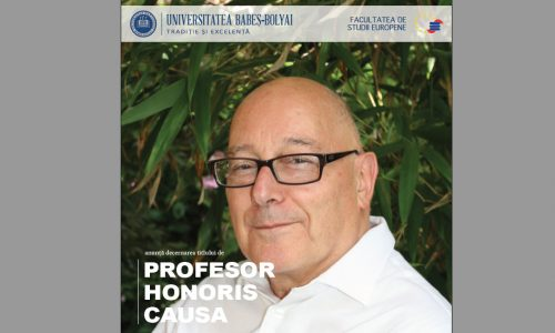 25 Oct – Profesor Honoris Causa MICHAEL O'NEILL