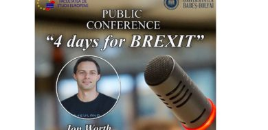 """25 March: Public Conference """"4 day for BREXIT"""""""