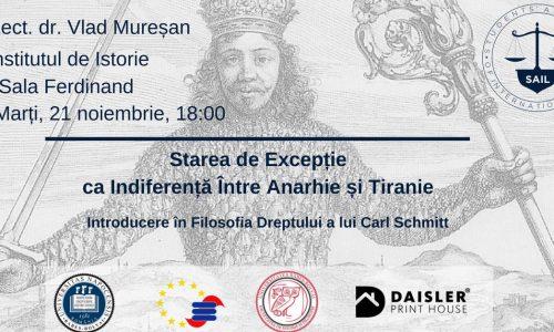 21 Nov – Conferință filosofia dreptului