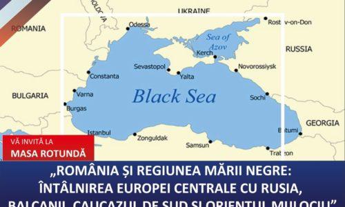 "2 Nov – Dezbatere CITADEL ""România și regiunea Mării Negre"""