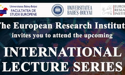 13-21 Mai: INTERNATIONAL LECTURE SERIES