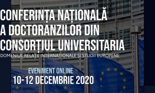 10-12 Dec.: Conferința Națională a Doctoranzilor