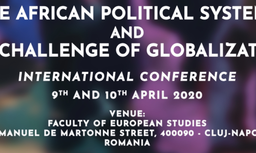 9-10 April 2020: The african political systems and the challenge of globalization