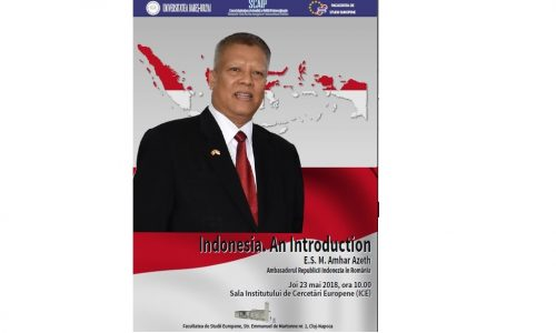 23 Mai – Indonesia. An Introduction