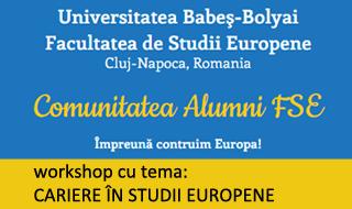 Cariere în studii europene.