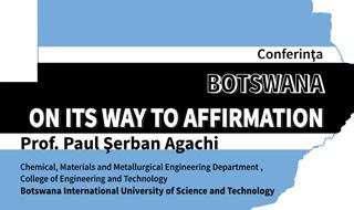 INVITAȚIE Conferința:Botswana on its way to affirmation